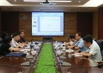 2015年8月12日,省卫计委到高医督导综合能力建设。