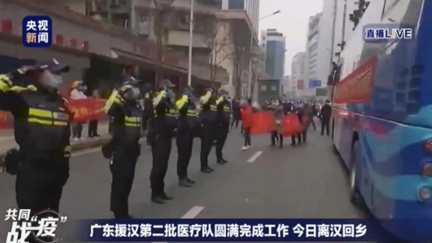 广东援汉第二批医疗队完满完成工作 今日离汉回乡